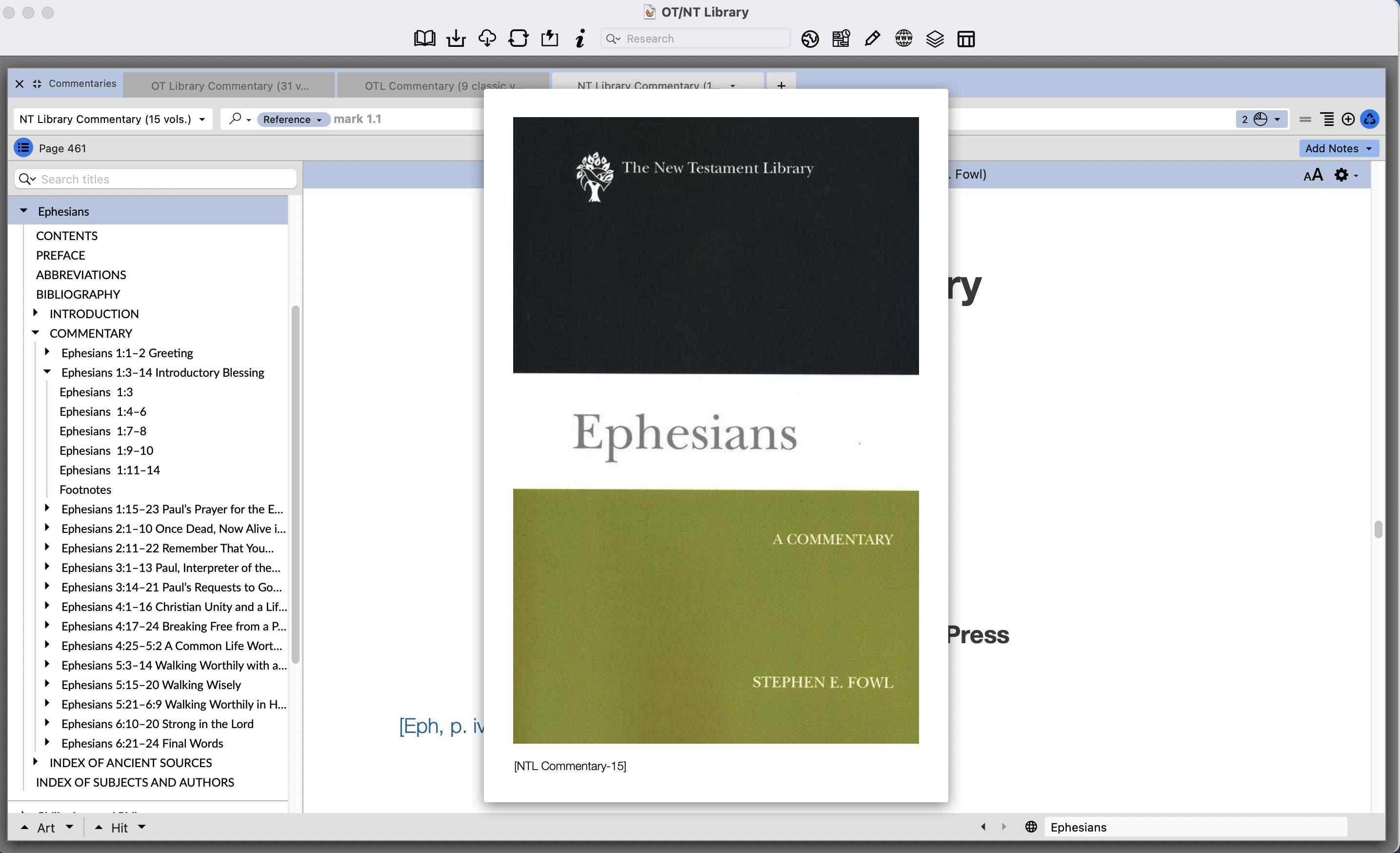 Stephen Fowl on Ephesians